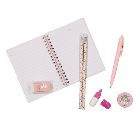 Kookie Enchanted Stationery Set 7 Pieces