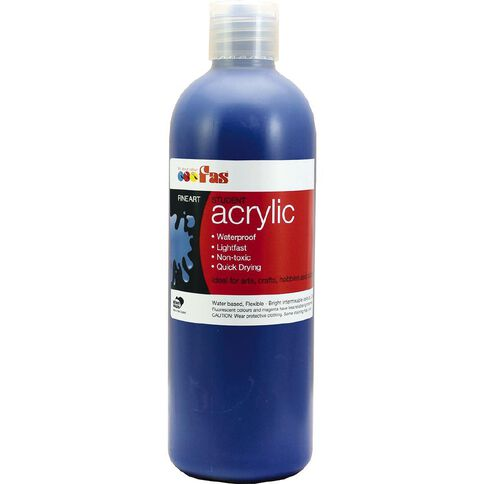 FAS Paint Student Acrylic Blue 500ml