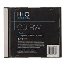 H+O Cd-Rw 12X 700 Mb 1 Slim Case