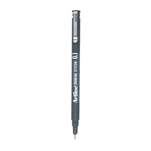 Artline Pen 231 Drawing System 0.1mm Loose Black