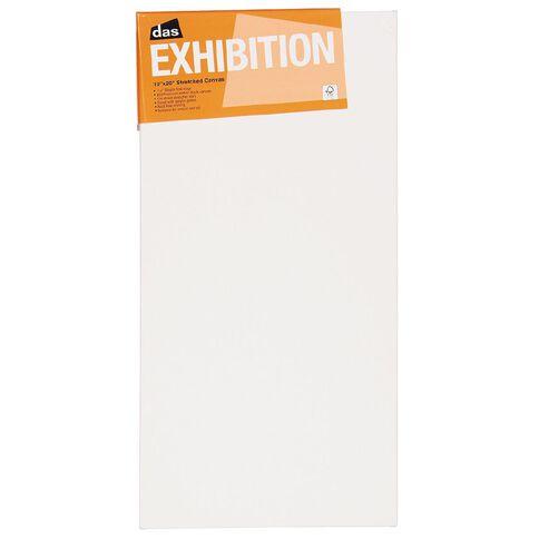 DAS 1.5 Exhibition Canvas 10 x 20in White