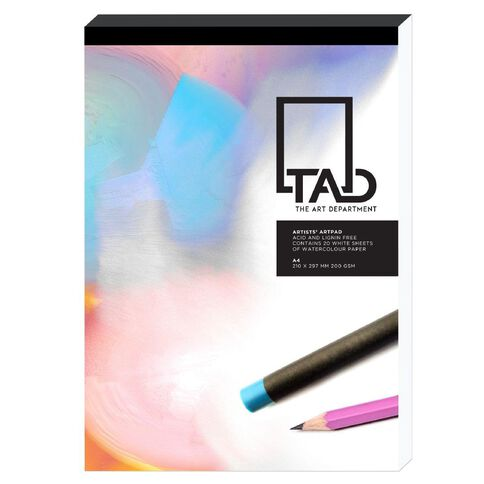 The Art Department Sketch Pad 200gsm A3 White A3