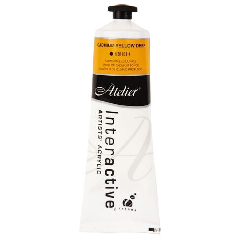 Atelier S4 Cadmium 80ml Yellow Deep