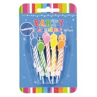 Artwrap Party Candles Balloons 10 Pack