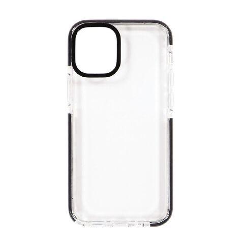 Tech.Inc iPhone 12 Mini Clear TPU Case Black Frame