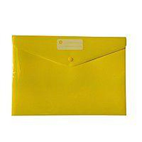 WS Document Envelope Dome Yellow