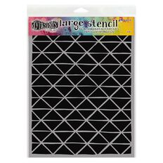Ranger Dylusions Stencil Angles Large
