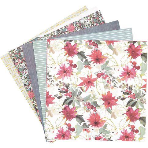 Rosie's Studio Bows & Bells 12in x 12in Designer Paper Pack 20 Sheet