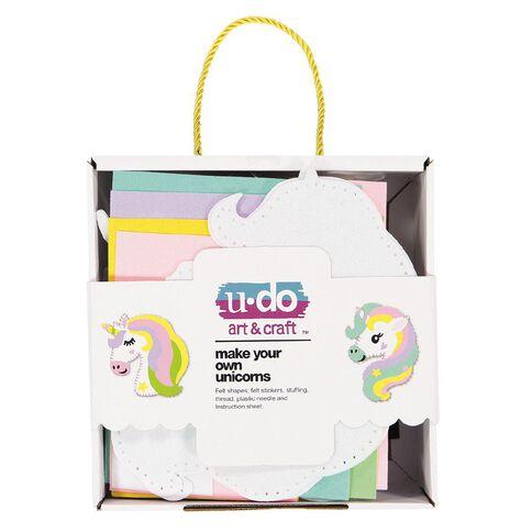 U-Do Sew Your Own Unicorns 2 Pack