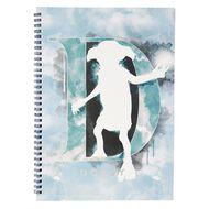 Harry Potter Spiral Notebook Dobby Blue Light A4