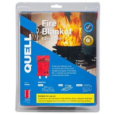 Quell Fire Blanket 1.2 x 1.8m Red