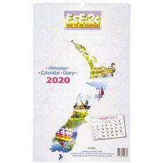 Calendar 2010 Ese2C Nz Scenic Wall