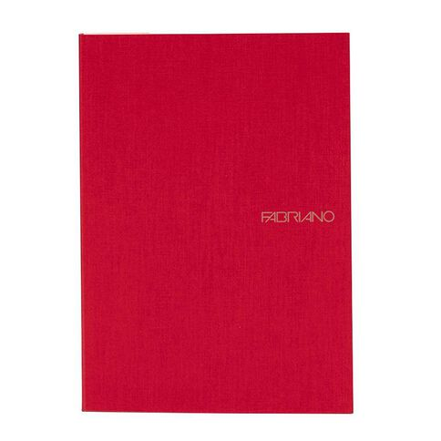 Fabriano Ecoqua Sketchbook Dotted 85GSM 90 Sheets Raspberry A5