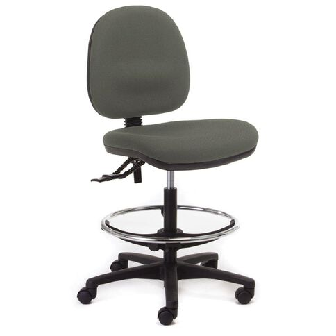 Chair Solutions Aspen Midback Tech Chair Classic Silver