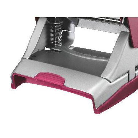 Leitz Metal 2 Hole Punch 30 Sheet Titan Red