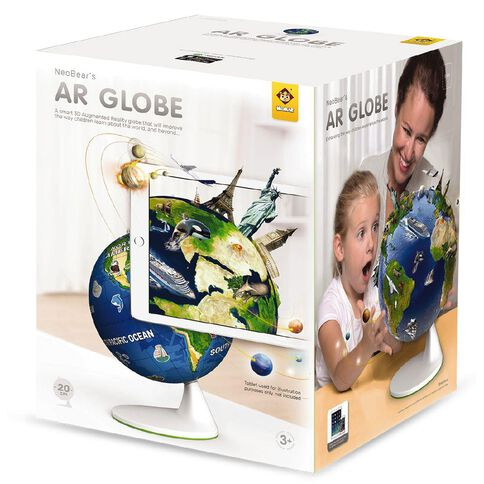 Neobear Augmented Reality Globe