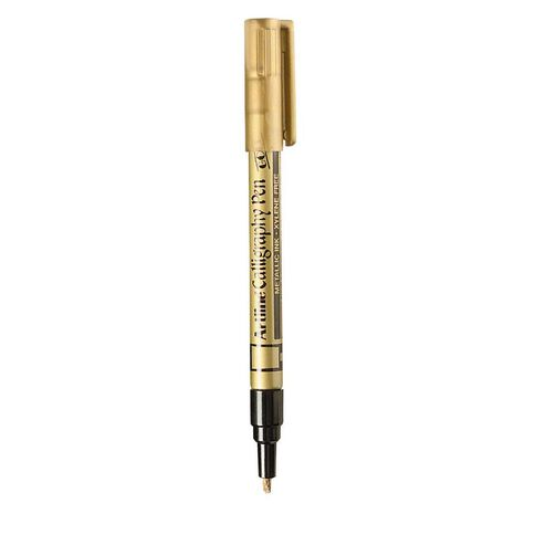 Artline Calligraphic Pen 2.5mm Gold Loose Gold