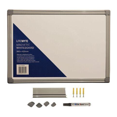 Litewyte Whiteboard 300mm x 420mm A3