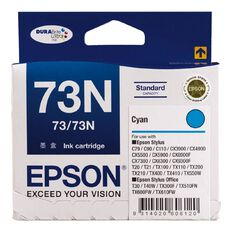 Epson Ink 73N Cyan (380 Pages)