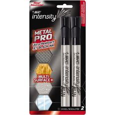 Bic Intensity Pro Permanent Marker Chisel Assorted