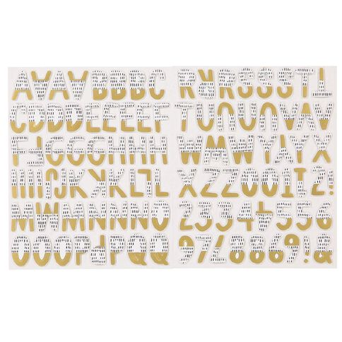 Rosie's Studio Lets Get Together Foam Alphabet 2 Sheets