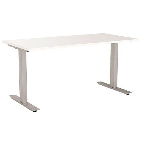 Agile Desk 1200 White/Silver