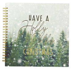 Uniti Santas Grotto Spiral Bound Album 12in x 12in