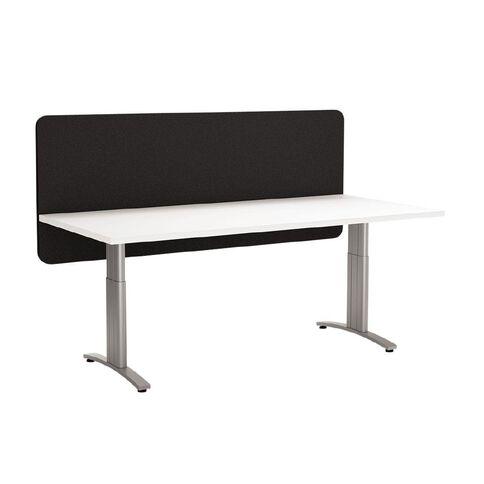 Boyd Visuals Desk Screen Modesty Panel Black 1800mm