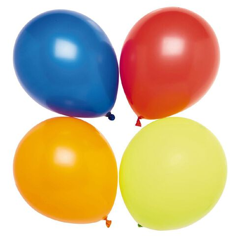 Party Inc Balloons Decorator Colours 25cm 100 Pack