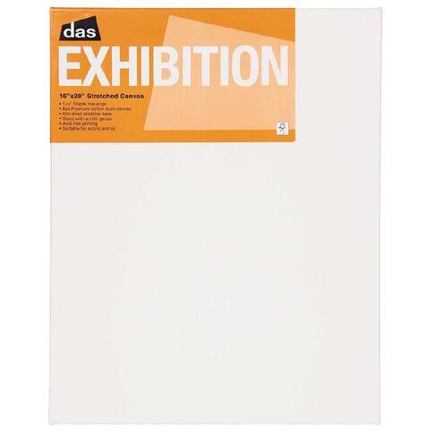 DAS 1.5 Exhibition Canvas 16 x 20in White