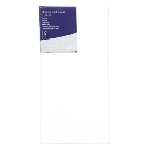 Uniti Platinum Canvas 6x12 Inches 380Gsm