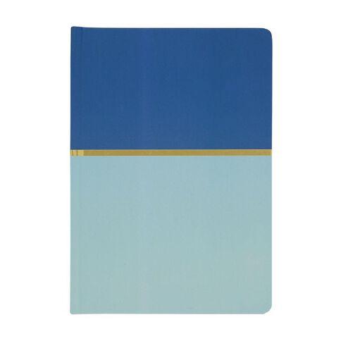 Uniti Geo Notebook Blue A5