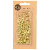 Uniti Safety Pins Grey 50 Pack