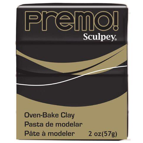 Sculpey Premo Accent Clay 57g Black