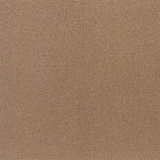 American Crafts Cardstock Sparkle Fine 12 x 12 Caramel Brown