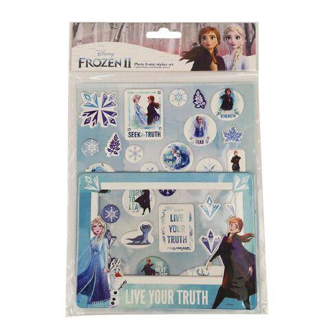 Frozen DIY Puffy Sticker Frame