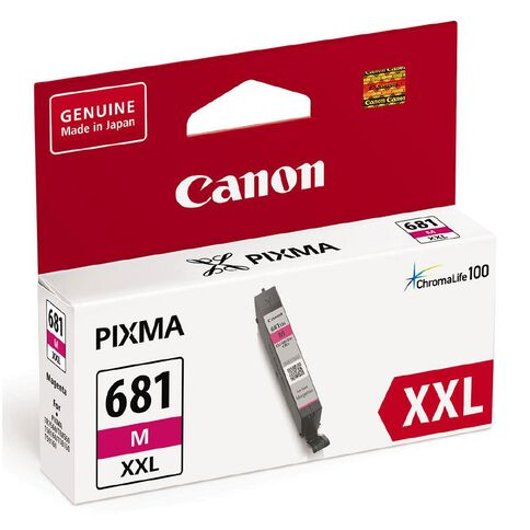 Canon CLI-681XXL Ink Magenta (800 Pages)