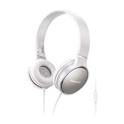 Panasonic Stereo Headphones Rp-Hf300M White