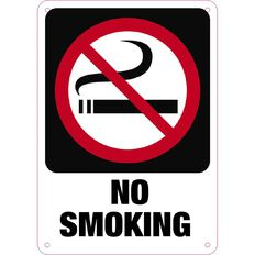 WS No Smoking Sign Small 340mm x 240mm