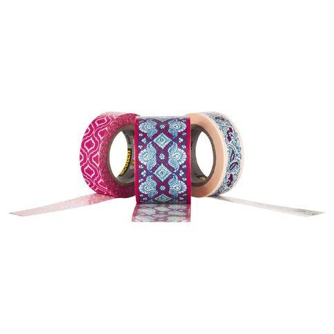 Scotch Washi Craft Tape Multipack Quatrefoil & Lace