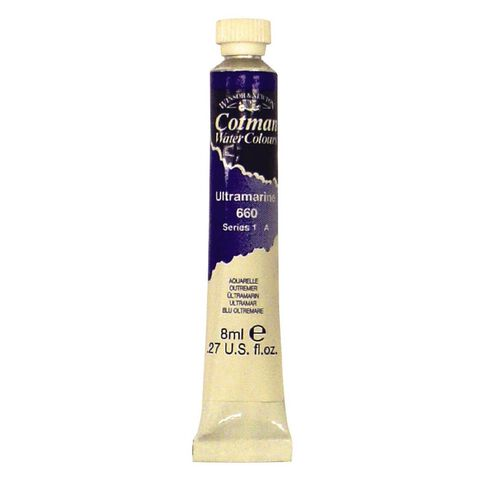 Winsor & Newton Cotman Watercolour Paint 8ml Ultramarine Blue