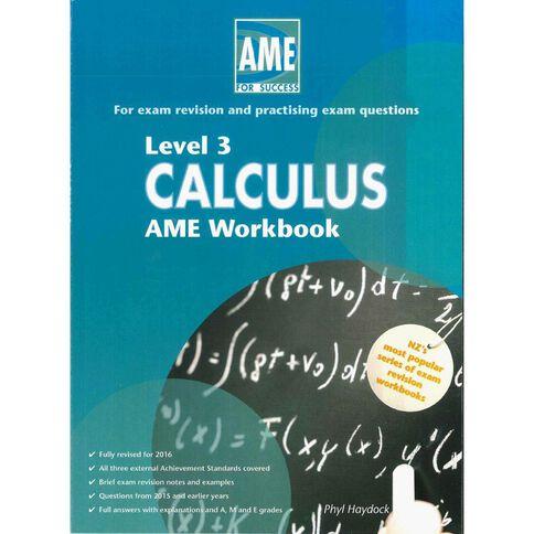 Ncea Year 13 Calculus Workbook
