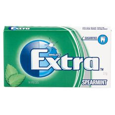 Extra Spearmint Envelope 14 Piece 27g
