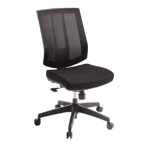 Eden Rally Synchro Highback Mesh Chair Black