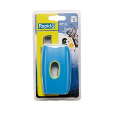 Rapid 10 Sheet 2 Hole Punch Funky Blue Green