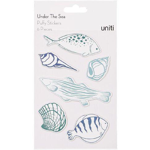 Uniti Under The Sea Puffy Sticker