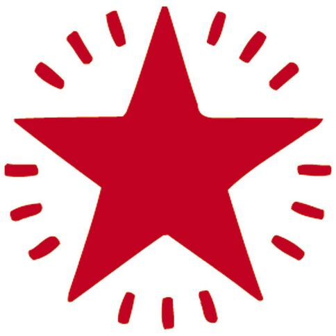 Xstamper Stamp Twinkle Star Red