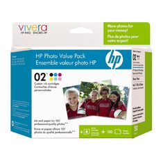HP Ink Cartridge 02 Photo Value 6 Pack