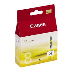 Canon Ink CLI8 Yellow (490 Pages)