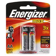 Energizer Max Batteries - AA Twin Pack